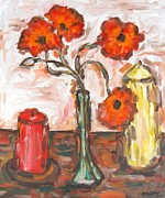T Shirts Painting Prints - Still Life Print by Patrick J Murphy