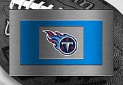 Offense Framed Prints - Tennessee Titans Framed Print by Joe Hamilton