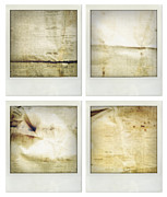 Aged Photo Framed Prints - Textures Framed Print by Les Cunliffe