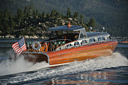 Mahogany Prints - Thunderbird on Lake Tahoe Print by Steven Lapkin