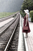 Railway Prints - Waiting Print by Joana Kruse