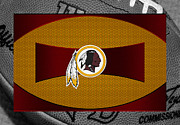 Offense Framed Prints - Washington Redskins Framed Print by Joe Hamilton
