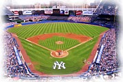 Pasttime Prints - Yankee Stadium Print by Allen Beatty