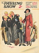 Schools Framed Prints - 1930s,uk,the Passing Show,magazine Cover Framed Print by The Advertising Archives