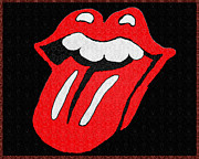 Rolling Stones Art - 50 Licks by Bill Cannon