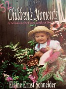 Devotional Mixed Media - 52 Childrens Moments - BOOK COVER by Eloise Schneider