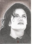 Michael Jackson Metal Prints - Michael Jackson Metal Print by Eliza Lo