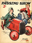 Toy Drawings Prints - 1930s,uk,the Passing Show,magazine Cover Print by The Advertising Archives