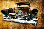 Graffitti Coupe Prints - 55 Chevy Print by Steve McKinzie