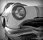 Christopher Fridley Prints - 56 Pontiac 870 Wagon Print by Christopher Fridley