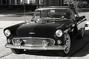 Antique Car Art Prints - 56 Thunderbird Print by Tony Grider