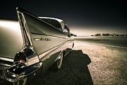 Beach Hop Prints - 57 Chevrolet Bel Air Print by motography aka Phil Clark