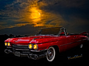 Moonglow Framed Prints - 59 Baddy Caddy Framed Print by Chas Sinklier