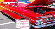 Collector Car Photos - 59 Chevy Impala by Mark Spearman