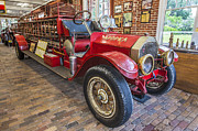 Fire Trucks Framed Prints - 1914 LaFrance Fire Engine Framed Print by Rich Franco