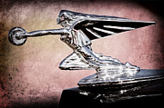Collector Hood Ornament Metal Prints - 1935 Packard Hood Ornament Metal Print by Jill Reger