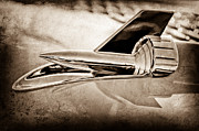 Hood Ornament Art - 1957 Chevrolet Belair Hood Ornament by Jill Reger