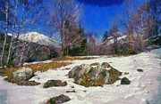 Abruzzo National Park Print by George Atsametakis