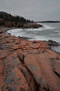 Down East Maine Photos - Acadia Coastline by Stephen  Vecchiotti