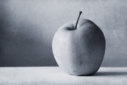 Grey Fine Art Posters - Apple Poster by Kristin Kreet