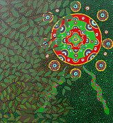 Ayahuasca Art Paintings - Ayahuasca Inspired Art - Howard G Charing by Howard Charing