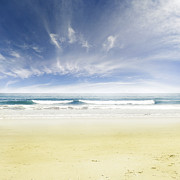 Beach Photograph Prints - Beach Print by Les Cunliffe