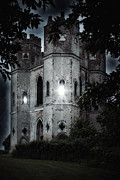 Creepy Castle Framed Prints - Castle Framed Print by Joana Kruse