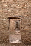 Entrance Door Art - Chaco Canyon by Steven Ralser