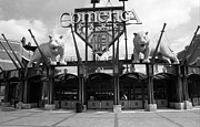 Baseball Murals Photos - Comerica Park - Detroit Tigers by Frank Romeo