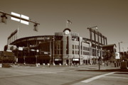 Colorado Posters Framed Prints - Coors Field - Colorado Rockies Framed Print by Frank Romeo