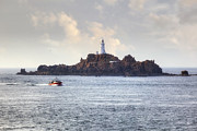 Great Britain Art - Corbiere Lighthouse - Jersey by Joana Kruse