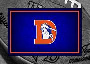 Denver Broncos Print by Joe Hamilton