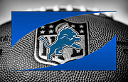 Lions Photo Prints - Detroit Lions Print by Joe Hamilton