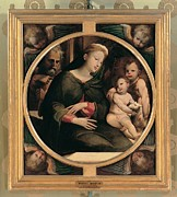 Child Jesus Photo Prints - Domenico Di Giacomo Di Pace Known Print by Everett