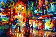 Leonid Afremov - Downtown Lights