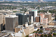 Citizens Bank Photos - Downtown Skyline of Wilmington by Bill Cobb