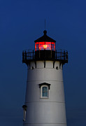 Edgartown Lighthouse Framed Prints - Edgartown Lighthouse Framed Print by John Greim