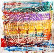 Baljit Chadha Metal Prints - Eternal Circle Metal Print by Baljit Chadha