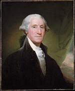 George Washington Print by Gilbert Stuart