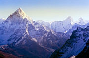Tim Hester Prints - Himalaya Mountains Print by Tim Hester