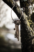 Secrecy Framed Prints - Keys Framed Print by Joana Kruse