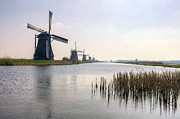 Windmills Prints - Kinderdijk Print by Joana Kruse