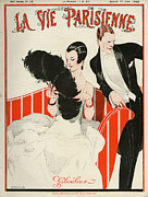 20Õs  Art - La Vie Parisienne  1922 1920s France by The Advertising Archives