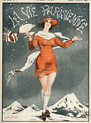20Õs  Prints - La Vie Parisienne  1924 1920s France Print by The Advertising Archives
