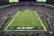 New York Jets Prints - MetLife Stadium Print by Allen Beatty