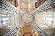 Reliefs Framed Prints - Mezquita Cathedral Interior in Cordoba Framed Print by Artur Bogacki