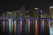 Alexander Galiano Art - Miami Downtown by Alexander Galiano