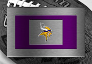 Offense Framed Prints - Minnesota Vikings Framed Print by Joe Hamilton