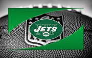 Jets Framed Prints - New York Jets Framed Print by Joe Hamilton