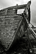 Spoiled Prints - Old abandoned ship Print by RicardMN Photography